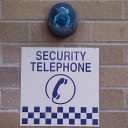 Security Phone Sign